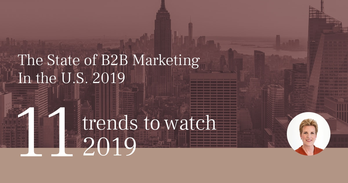 2019年BtoBマーケティング振り返り 11のトレンド