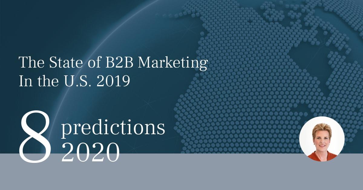 2020年BtoBマーケティングトレンド 8つの予測